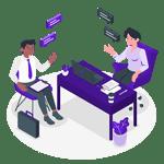 Humanização com pessoas e áreas do negócio